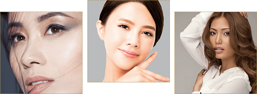 Asian eyelid surgery options model examples