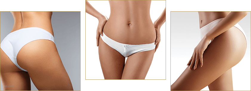 model wearing white undergarments